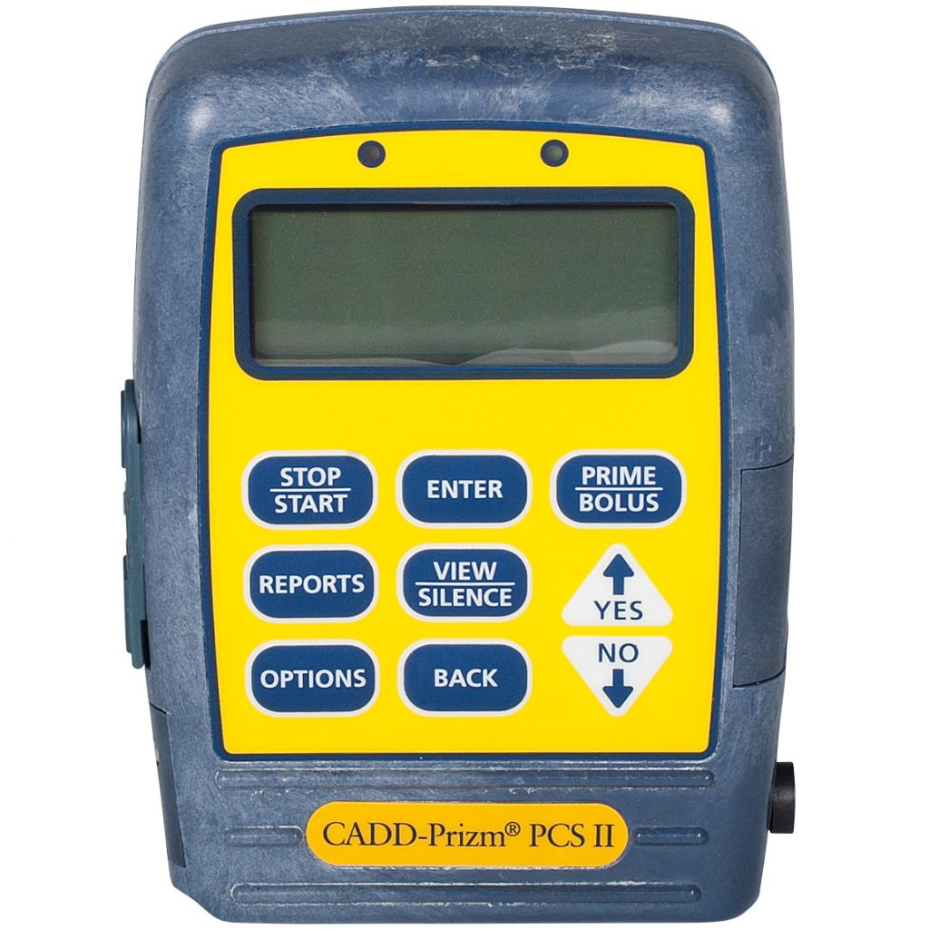 Smiths Medical Cadd Prizm PCS II 6101 Yellow Epi